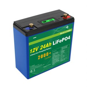Solar Deep Cycle 24v 48v 24ah Lifepo4 Battery Pack UPS 12v 24ah Battery