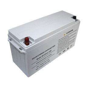 ที่เก็บพลังงานแบตเตอรี่ LiFePO4 12V 80Ah แบตเตอรี่พลังงานแสงอาทิตย์สำหรับอุปกรณ์จ่ายไฟ