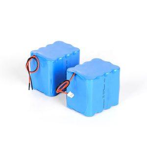 แบตเตอรี่ลิเธียมแบบชาร์จไฟได้เอง 18650 ปล่อยสูง 3s4p 12v แบตเตอรี่ลิเธียมไอออน