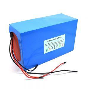 ชุดแบตเตอรี่ลิเธียม 48v / 20ah สำหรับสกู๊ตเตอร์ไฟฟ้า