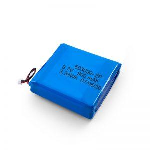 ชาร์จใหม่ได้ 3.7V 450530550700750800900Mah Li-Po Lipo แบตเตอรี่