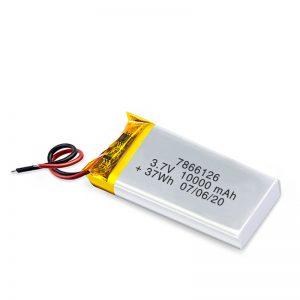 แบตเตอรี่แบบชาร์จ LiPO 7866120 3.7V 10000mAh / 3.7V 20000mAH / 7.4V 10000mAh