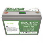 แบตเตอรี่ LiFePO4 รอบลึก 12V100Ah พร้อม BMS อัจฉริยะสำหรับระบบจัดเก็บพลังงานในครัวเรือน