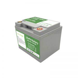 ALL IN ONE 2,000 รอบแบตเตอรี่ LiFePO4 12V50Ah พร้อม BMS อัจฉริยะสำหรับระบบจัดเก็บพลังงานในครัวเรือน