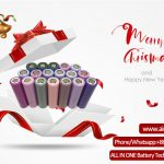 Merry Christams คำทักทายจาก ALL IN ONE Battery Technology Co Ltd