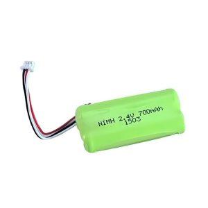 แบตเตอรี่ชาร์จ NiMH AA700 2.4V