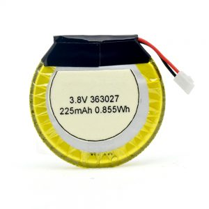 LiPO แบตเตอรี่ที่กำหนดเอง 363027 3.7V 225mAH